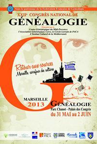 Congrès de généalogie 2013