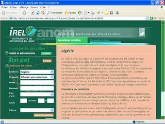 Site des ANOM